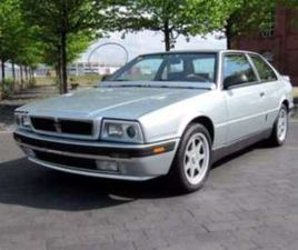 COUPE GHIBLI 2.8 V6 AUTO * ONE OF ONLY 210 * LHD