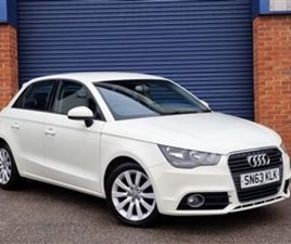 USED 2013 AUDI A1 SPORTBACK TFSI SPORT HATCHBACK 65,000 MILES IN WHITE FOR SALE | CARSITE