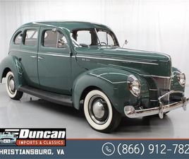 FOR SALE: 1940 FORD DELUXE IN CHRISTIANSBURG, VIRGINIA