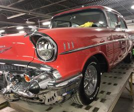 FOR SALE: 1957 CHEVROLET BEL AIR IN WILLOUGHBY , OHIO