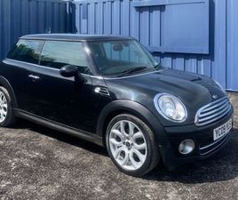 2009 MINI COOPER D FOR SALE IN DERRY FOR £2,950 ON DONEDEAL
