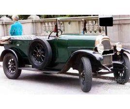 FIAT 501 TORPEDO 1923