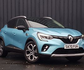 NEARLY NEW 2020 (70) RENAULT CAPTUR 1.6 E-TECH PHEV 160 S EDITION 5DR AUTO IN GLASGOW