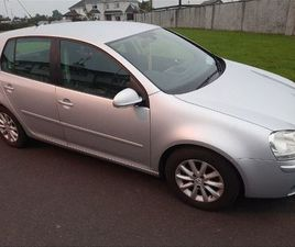 2007 VOLKSWAGEN GOLF 1.9 TDI MATCH FOR SALE IN MAYO FOR €1,700 ON DONEDEAL