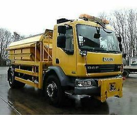 DAF TRUCKS LF GRITTERS,.WET SYSTEMS FITTED AND PLOUGHS 11-21,000 MILES