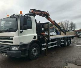 DAF TRUCKS CF 75.310 6X2 WITH FRONT MOUNTED FRANE......WE ARE OPEN AS USUAL