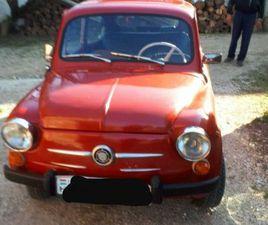 FIAT ZASTAVA 750 , BAUGLEICH WIE ALTER FIAT 600