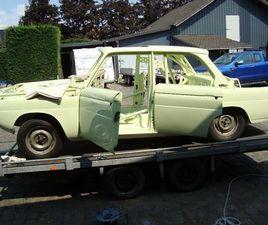 BMW 1800TI NEUE KLASSE ROHKAROSSE KOMPL; BJ 1965 MIT ORIG. BRIEF