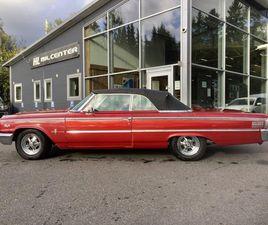FORD GALAXIE CONVERTIBLE 500XL 1963/V8/AUT/DRAG