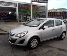 2014 OPEL CORSA NCT 22 LOW MILEAGE FOR SALE IN DUBLIN FOR €5495 ON DONEDEAL
