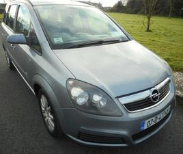 OPEL ZAFIRA CLUB 1.6 I 16V FOR SALE IN WEXFORD FOR €1,350 ON DONEDEAL