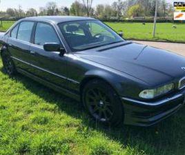 BMW 7-SERIE 750I 5.4 LITER V12 E38 UIT 02-01-1996 AANGEBODEN DOOR JMB GARAGE