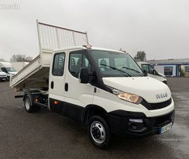 IVECO 35-130 D / DOUBLE CABINE / BENNE / 2016 / 74800KM