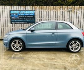 USED 2012 AUDI A1 S LINE TDI HATCHBACK 78,896 MILES IN BLUE FOR SALE | CARSITE