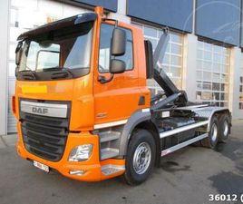 DAF CF 410 6X4 JNK EURO 6