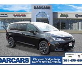 BRAND NEW BLACK COLOR 2020 CHRYSLER PACIFICA HYBRID TOURING-L FOR SALE IN NEW CARROLLTON,