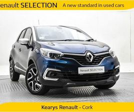 RENAULT CAPTUR ICONIC TCE 90 MY18 4DR FOR SALE IN CORK FOR €19,550 ON DONEDEAL