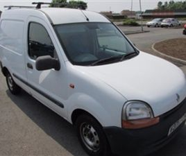 USED 1999 RENAULT KANGOO 1.9 1.9D ECO 655D 1D 54 BHP NOT SPECIFIED 158,000 MILES IN WHITE
