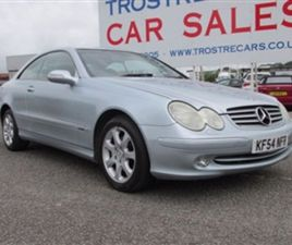 USED 2004 MERCEDES-BENZ CLK 2.7 CLK270 CDI ELEGANCE 2D AUTO 170 BHP COUPE 147,242 MILES IN
