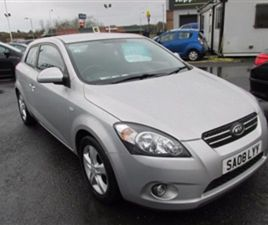 USED 2008 KIA CEED 1.6 PRO CEED 2 3D 121 BHP HATCHBACK 71,000 MILES IN SILVER FOR SALE | C