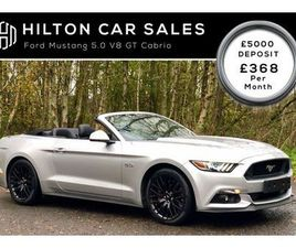 2015 FORD MUSTANG 5.0 V8 GT (421PS) (CUSTOM PACK) CONVERTIBLE AUTO - £26,995