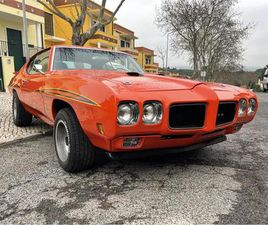 FOR SALE: 1970 PONTIAC GTO (THE JUDGE) IN LISBON, PORTUGAL
