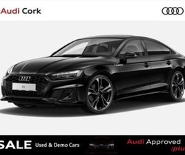 A5 SPORTBACK 2.0 35TDI 163BHP S-LINE AUTO BLACK EDITION WITH STYLE PACK