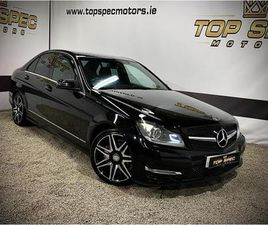 MERCEDES-BENZ C-CLASS 2013 FULLY LOADED AMG SPORT