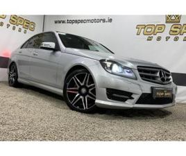 MERCEDES-BENZ C-CLASS 2013 FULLY LOADED AMG SPORT PLUS