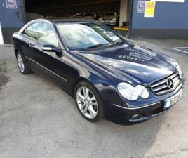 CLK 220 CDI AVANTGARDE A/T// STUNNING CAR SUPERB CONDITION// LOW MILEAGE EXAMPLE//TAXED 08