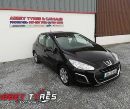 2013 PEUGEOT 308 1.6L DIESEL FROM ABBEY TYRES & CAR SALES - CARSIRELAND.IE