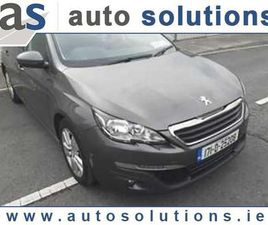 2017 PEUGEOT 308 1.6L DIESEL FROM AUTO SOLUTIONS - CARSIRELAND.IE