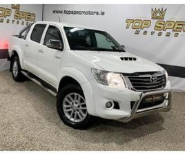 2014 TOYOTA HILUX 3.0 INVINCIBLE TOP SPEC LEATHER