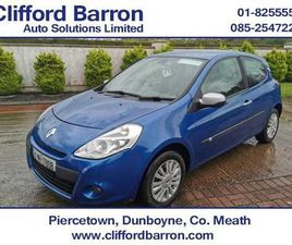2010 RENAULT CLIO 1.1L PETROL FROM CLIFFORD BARRON AUTO SOLUTIONS - CARSIRELAND.IE