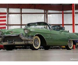 CADILLAC ELDORADO BIARRITZ CABRIOLET 1957 - V8 365CI - BOITE AUTOMATIQUE