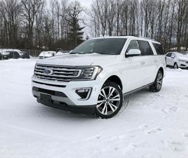 2021 FORD EXPEDITION MAX LIMITED CARGO PKG NAV 360 CAMERA MYKEY   CARS & TRUCKS   BARRIE  