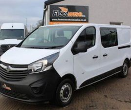 VAUXHALL VIVARO 1.6 2900 L2H1 CDTI DCB ECOFLEX S/ FOR SALE IN ARMAGH FOR £12995 ON DONEDEA