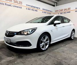 OPEL ASTRA SRI VX-LINE, 1 YEAR WARRANTY FOR SALE IN LIMERICK FOR €16,990 ON DONEDEAL