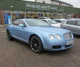 2005 BENTLEY CONTINENTAL 6.0 GT - £22,495