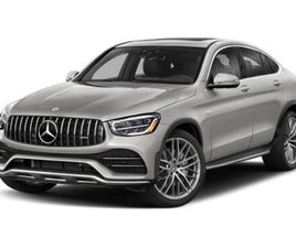 BRAND NEW SILVER COLOR 2021 MERCEDES-BENZ GLC 43 AMG COUPE 4MATIC FOR SALE IN MORRISTOWN,