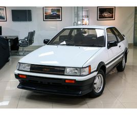 AE86 TOYOTA COROLLA LEVIN GT APEX COUPE, 1 OWNER, FULL TOYOTA SERVICE HISTORY FROM NEW!