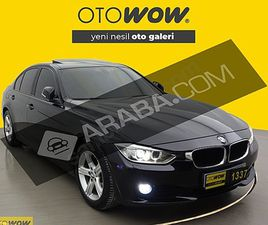 BMW 320D - THECNO PLUS-2014- KM 134500 - YARI OTOMATIK - DIZEL BMW 3 SERISI 320D TECHNO PL