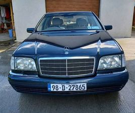 MERCEDES S-CLASS W140. THE BEST IN IRELAND. FOR SALE IN KILKENNY FOR €6,000 ON DONEDEAL