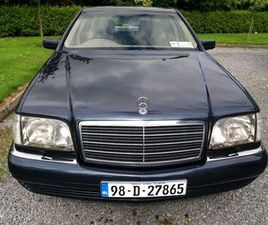 MERCEDES S-CLASS W140. THE BEST IN IRELAND. FOR SALE IN KILKENNY FOR €7,000 ON DONEDEAL