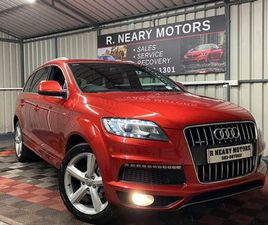 2014 142 AUDI Q7 3.0 TDI AUTOMATIC S-LINE FOR SALE IN WEXFORD FOR €28,950 ON DONEDEAL