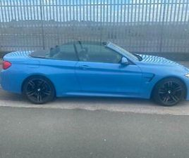 BMW M4 3.0 CONVERTIBLE 431BHP M DCT 2016 66REG 30,600M