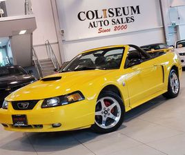 2004 FORD MUSTANG GT CONVERTIBLE ***5 SPEED MANUAL-V8-CERTIFIED* | CARS & TRUCKS | CITY OF