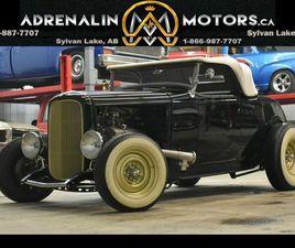 1932 FORD HOT ROD ROADSTER CUSTOM WITH 450HP!! | CARS & TRUCKS | RED DEER | KIJIJI