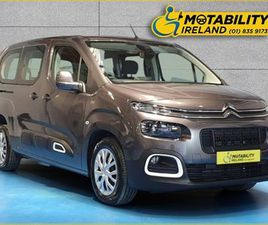 CITROEN BERLINGO MULTISPACE WHEELCHAIR ACCESSIBLE FOR SALE IN MEATH FOR €30,995 ON DONEDEA