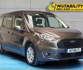 FORD TOURNEO CONNECT ZETEC AUTO WHEELCHAIR CAR FOR SALE IN MEATH FOR €33,995 ON DONEDEAL